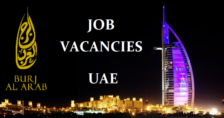 Burj Al Arab Hotel Dubai Jobs – Apply Now